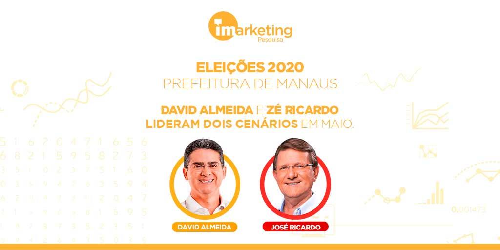Foram testados 15 nomes na oitava pesquisa para prefeito de Manaus 2020.