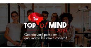 iMarketing apresenta os resultados da 16ª edição do Top of Mind, criado em 1999 pela então empresa Perspectiva, a segunda no País a realizar este estudo.