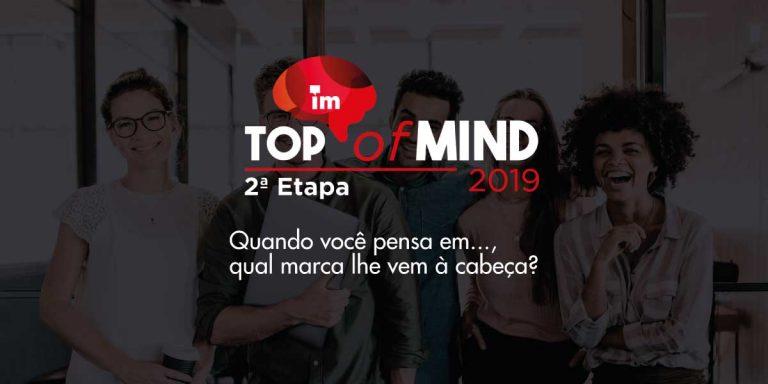 A nova etapa da 16ª edição do Top of Mind incluiu as marcas de 19 novas categorias que vão desde agências de viagem até órgãos públicos.