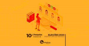 iMarketing Agência Digital divulga a sua 10ª pesquisa para prefeito de Manaus lança três opções de intenção de voto.